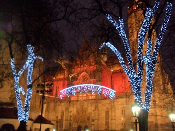 Словакия. Рождество в Кошице