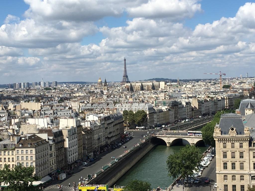 90-дневный Евротур. Париж